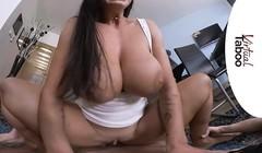 VIRTUAL TABOO - Busty Chloe Takes In Ass For Breakfast Thumb