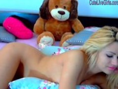 gorgeous blonde masturbating with a dildo6.wmv Thumb