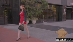 BLACKED Redhead Maitland Ward Is Now BBC Only Thumb