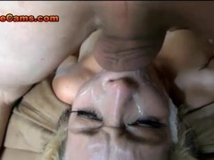 Extreme Gagging Deep Throat Face Fucking Thumb