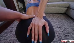 My hot latina stepmom likes to play with balls Thumb