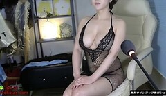 Korean Milf oils her big boobs Thumb