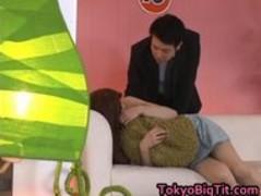 Asian Hottie Erika gets an Unusual Job part1 Thumb