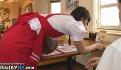 Japanese recorded maid has to fuck a client Thumb