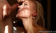 Very hot Teen Sluts Taking Huge Facials Compilation Thumb