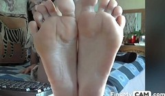 Granny perfect feet in face NO SOUND Thumb