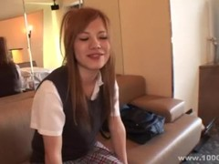 [1000giri] 美巨乳女子校生の初めてのSM講座 アキナ Thumb