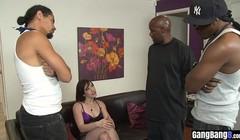 Black guys delivered huge slender dicks for horny babe Thumb
