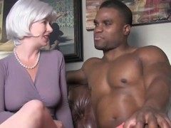 Shameless wife cheating on husband with her black boss with BBC Thumb