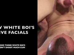 Black vs White - Episode 2 - Black bull facials vs White boi facials Thumb