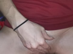 Riding hard cock and getting choked untill I CUM Thumb