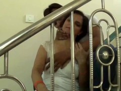 Hot desi shortfilm 150 - Mature aunty big boobs squeezed hard continuously Thumb