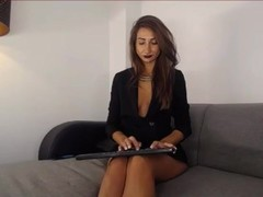 romanian ShivaRed smoking her pussy on cam Thumb