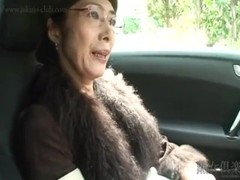 Hot Asian granny suck cock and fuck Thumb