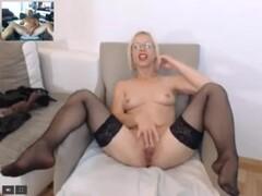 blonde femdom masturbate Thumb