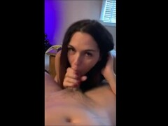 My best friends hot mom begs me to nut in her mouth Thumb