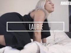 AmateurEuro - Slutty French Hottie Laurie Cums Hard At Her Porn Audition Thumb