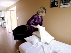 Step Mom is Stuck Making the Bed in our New House - Cory Chase Thumb
