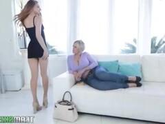 Blonde Milf fucks ex wife Thumb