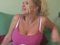 big titted british mother shows off great rack and Thumb