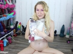 Bad Dragon L Pearce Orc Cock Dildo Unboxing Creampie Fuck and Facial tr27 Thumb